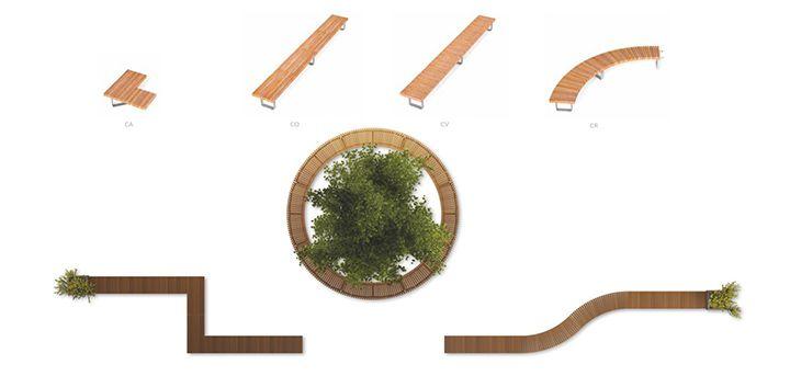 Urban furniture Metalco: take a seat on the landscape