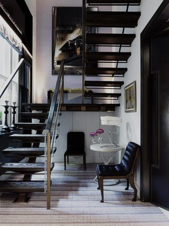 David Collins.Decor, House Stairways, Stairs, Interiors Design Stairways, David Collins, Dreams, Living Spaces, Open Staircases, Attic Room