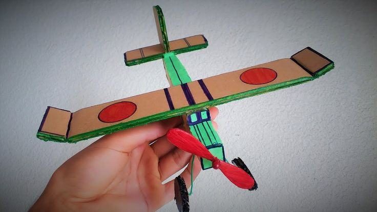 How To Make A Glider Out Of Cardboard - (Simple Cardboard Airplane)