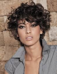 Image result for undercut hairstyle CURLY BOB
