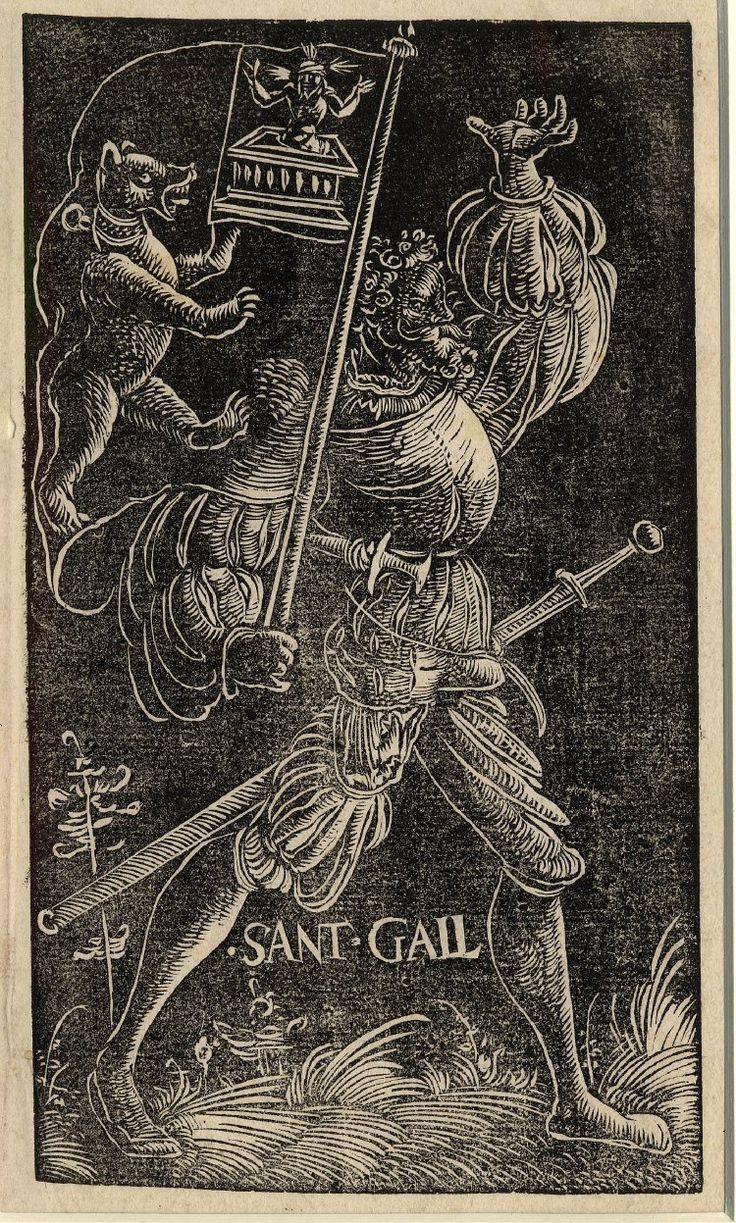 Standard Bearer of St Gallen by Urs Graf, 1521