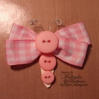 Cute hair bow!