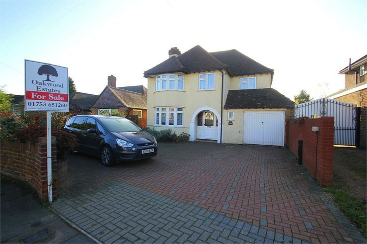Langley Park Road, Iver £475,000 Freehold, PLANNING APPLICATION SUBMITTED! 4 bed detached house situated in centre of Iver Village potential to extend (STPP) 2 receptions master bed with ensuite 15ft kitchen conservatory downstairs WC http://goo.gl/7KSdep