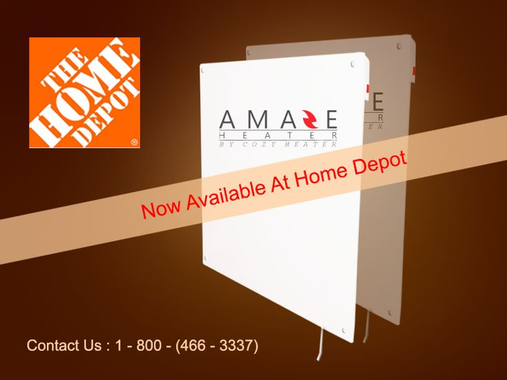 Hurry Up!! Now Amaze heaters are available in Home Depot, choose the best fit for your interior from our exclusive collection of heaters. For more details click on : http://www.amaze-heater.com