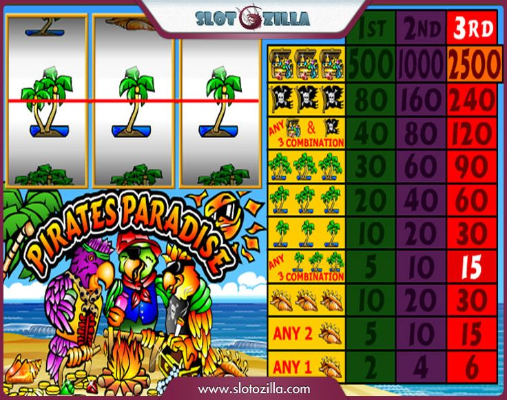 Pirates Paradise slot - gratis online Neogames slotspil