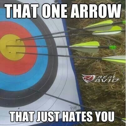 That one arrow that makes you say....WTF?                                                                                                                                                     More