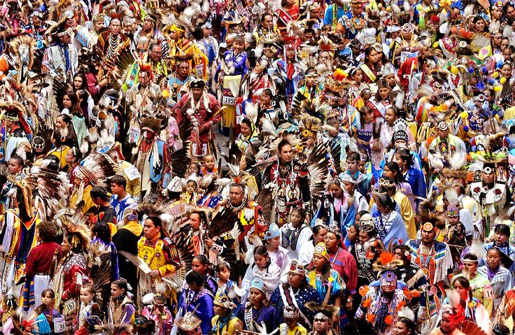 The Gathering of Nations Pow Wow at The Pit in Albuquerque, New Mexico, USA.