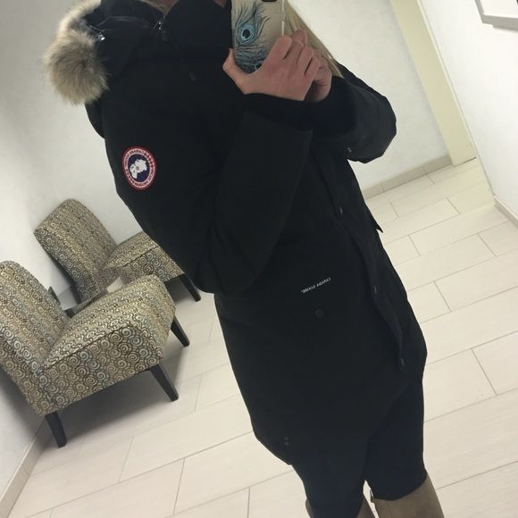 Canada Goose Trillium Parka ☃ Canada goose womens trillium jacket. MY LOVE . Not for sale right now Canada Goose Jackets  Coats Puffers