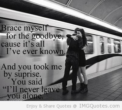 Sad Goodbye Quotes | Sad Quotes Brace myself for the goodbye