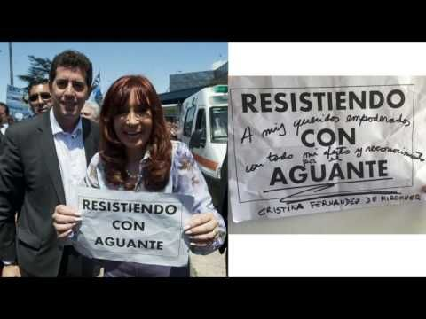 25 DE MAYO: Primer Marcha Argentino Brasilera - Resistiendo con Aguante