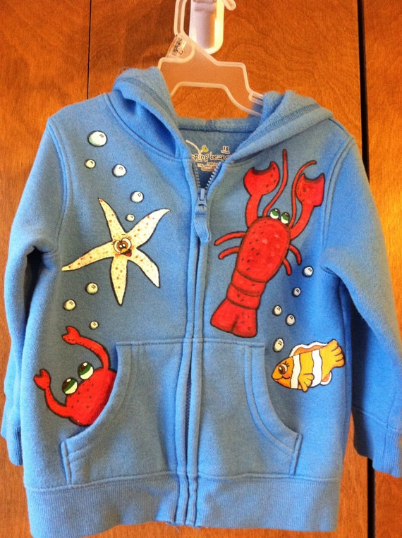 68 Best Painted Clothes Images On Pinterest Baby Dresses