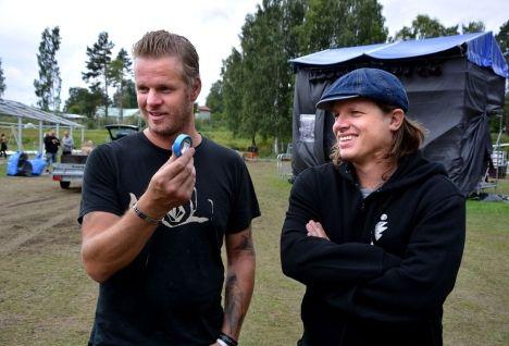 Mattias Larsson and Robert Pettersson