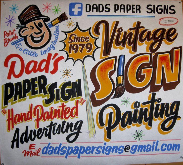 Dave Gunninglleva más de 36 años haciendo increíbles piezas de lettering para anuncios de supermercados y pequeños negocios deNew Hampshire a través de su negocio Dad´s Paper Signs. Dave es de lo…