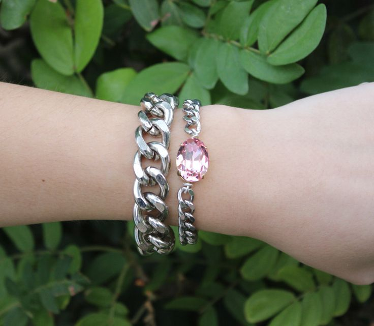 CASH CHAIN BRACELET by esmecollection on Etsy