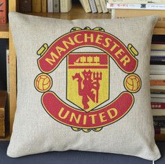 Manchester United Print Decorative Pillow