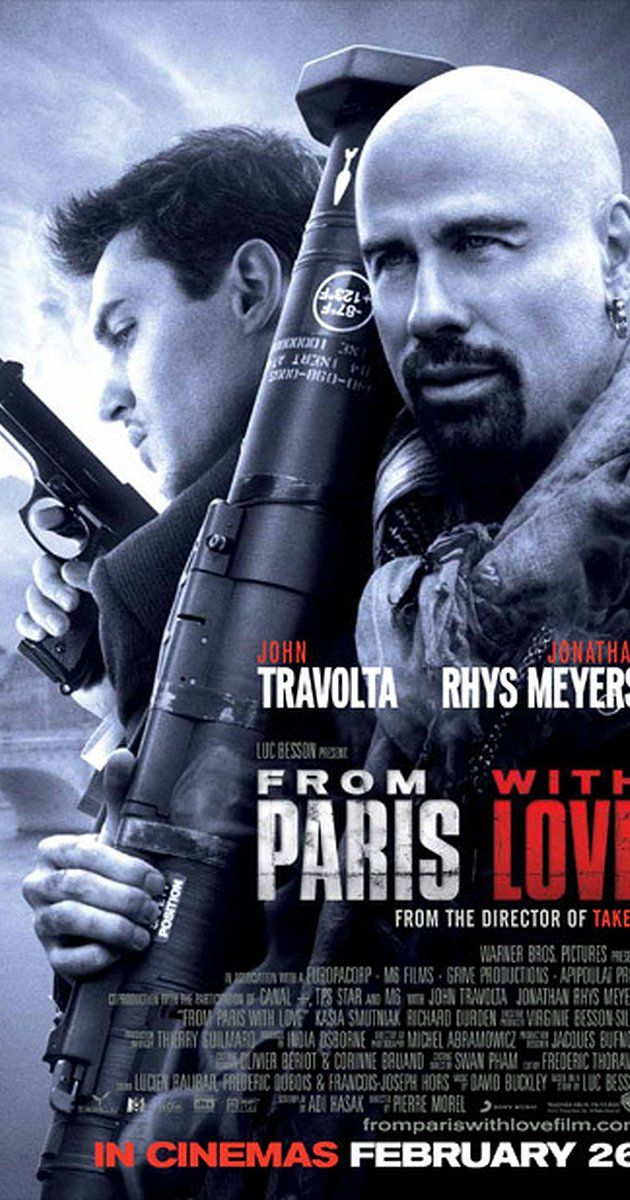 Directed by Pierre Morel.  With John Travolta, Jonathan Rhys Meyers, Kasia Smutniak, Richard Durden. In Paris, a young employee in the office of the US Ambassador hooks up with an American spy looking to stop a terrorist attack in the city.