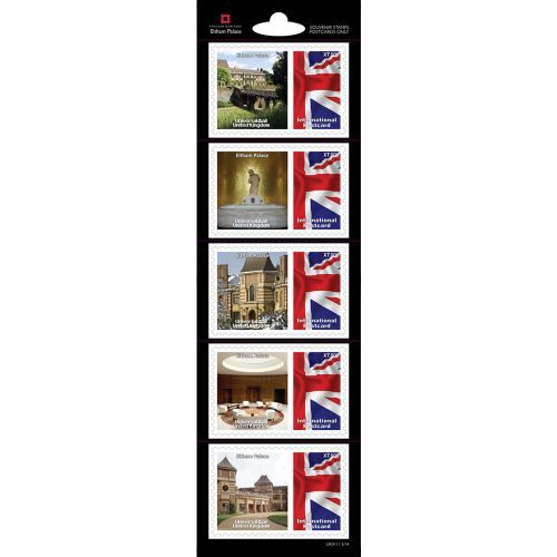 Part of our exclusive range of English Heritage Stamps, these stamps highlight some our famous properties throughout England.