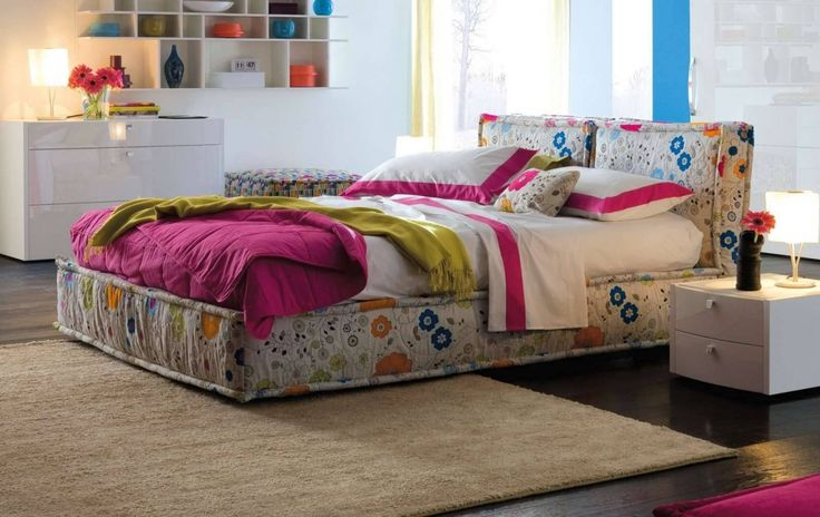 http://www.drissimm.com/wp-content/uploads/2015/06/awesome-favorite-colorful-bedroom-ideas-with-floral-platform-bed-plys-white-nighattand-beside-bed-as-we-brown-carpet-for-wooden-floor-decor-idea.jpg