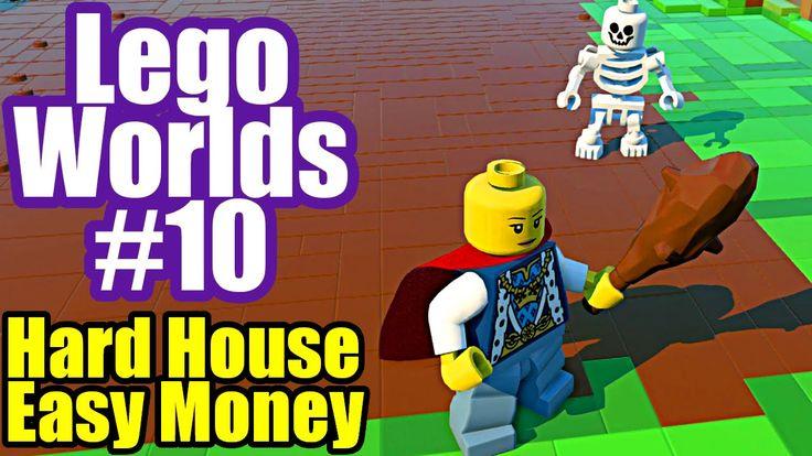 LEGO Worlds #1 Funny House Build, Mower & Cars   LEGO Worlds (PC ...