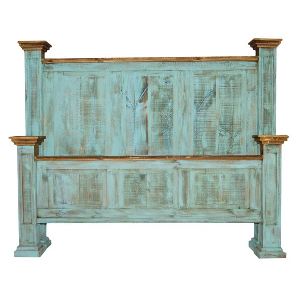 Turquoise Oasis Bed. Cowhide FurnitureFurniture DecorBedroom FurnitureRustic  ...