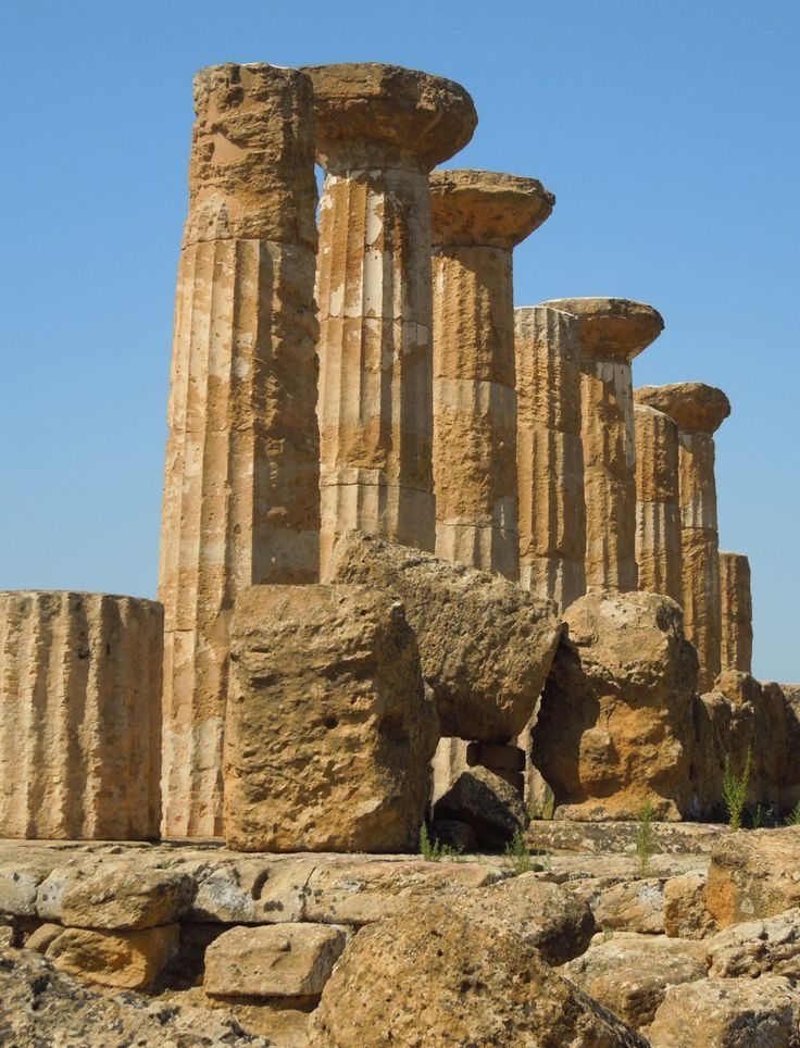 Tempio di Ercole (Temple of Hercules, Greek, 500 BC), Valley of the Temples, Sicily