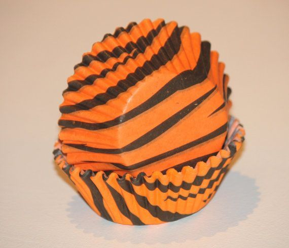 tiger striped party favors   ... , Safari Birthday, Jungle Party, Boy Girl Party Supplies, Baby Shower