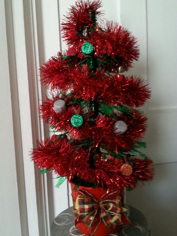 Recycled Christmas tree!