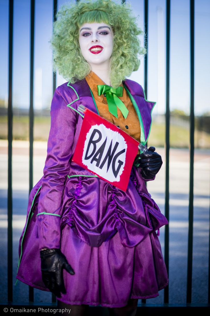 Athena massey red alert pictures to pin on pinterest - Joker Supanova Perth 2013 Female Injustices