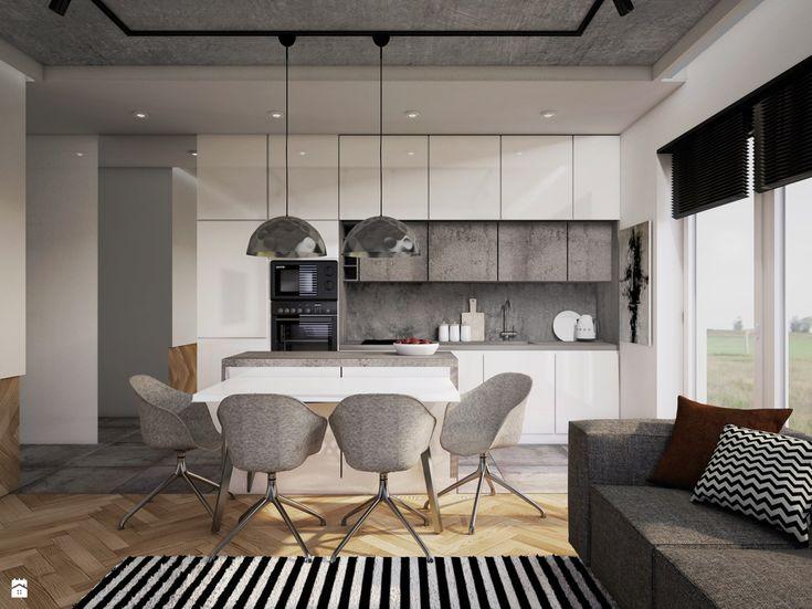 Kuchnia styl Nowoczesny - zdjęcie od JUST studio projektowe - Kuchnia - Styl Nowoczesny - JUST studio projektowe
