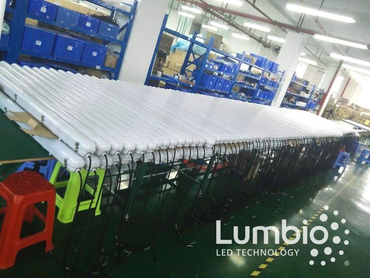Lumbio LED Tri proofs in production and installed