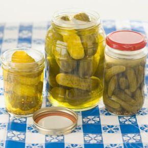 Ogórki korniszony - przepis na doskonały dodatek do obiadów