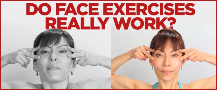 how to make your face symmetrical exercises
