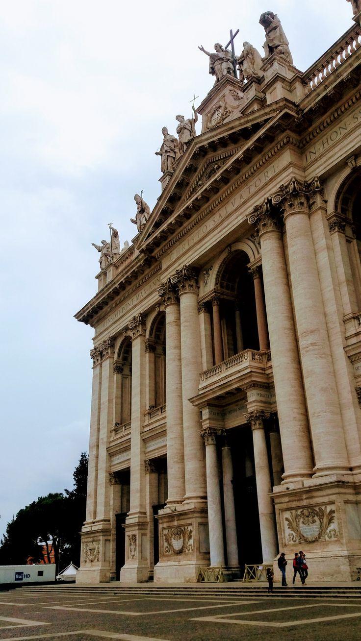 BASILICA SAN GIOVANNI IN LATERANO, ROME, ITALY.