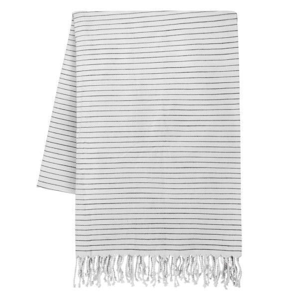 Tablecloth With Fringe Stripe 145x200cm