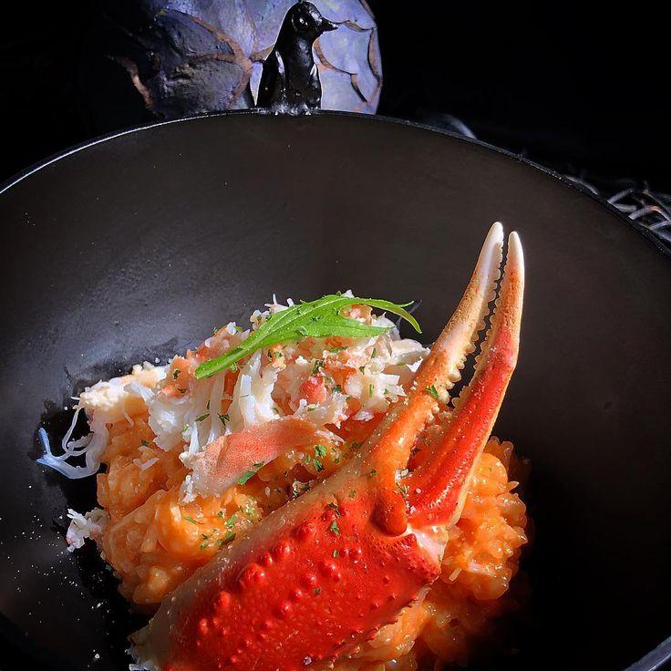 蟹クリームリゾット  #リゾット#蟹#牛乳#お米#お昼ごはん#ランチ#おうちごはん#おうちカフェ#デリスタグラマー#クッキングラム#料理#うつわ#イタリアン##homecioking#rice#tomato#cream#risotto#italianfood#crab#crabmeat#foodporn#foodie#chillout#lunchtime