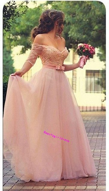 Bg458 Charming Prom Dress,Tulle Prom Dress,Off Shoulder Prom