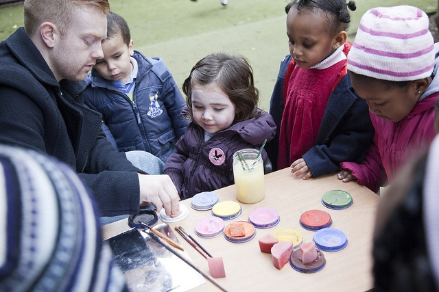 LEYF nursery practitioner Ricky engages children with face-painting | Male role models play such an important part in a child's life, so we are especially proud to have such great male staff in our LEYF nurseries. In their honour and to celebrate Father's Day in the UK this weekend, we've chosen this lovely shot of Deputy Manager Ricky as this week's Friday Photo. He really knows how to engage children in any activity - in this case, the simple and ever popular activity of face-painting!