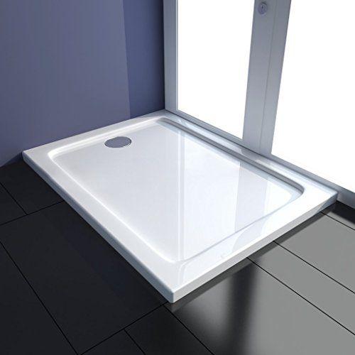 Piatto doccia quandrato con scarico centrale ABS 80 x 100 cm vidaXL http://www.amazon.it/dp/B00H6WIC50/ref=cm_sw_r_pi_dp_CA-Ewb0Q5CGFS