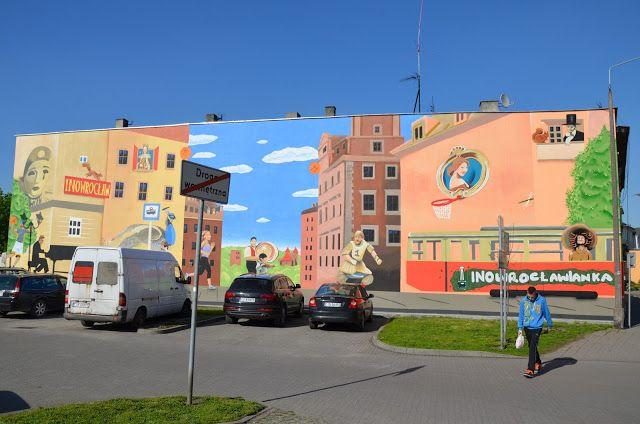 Kroniki Inowrocławskie: Mural gotowy......czas na następny