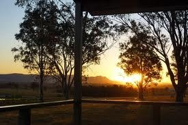 Sunset in Lovedale