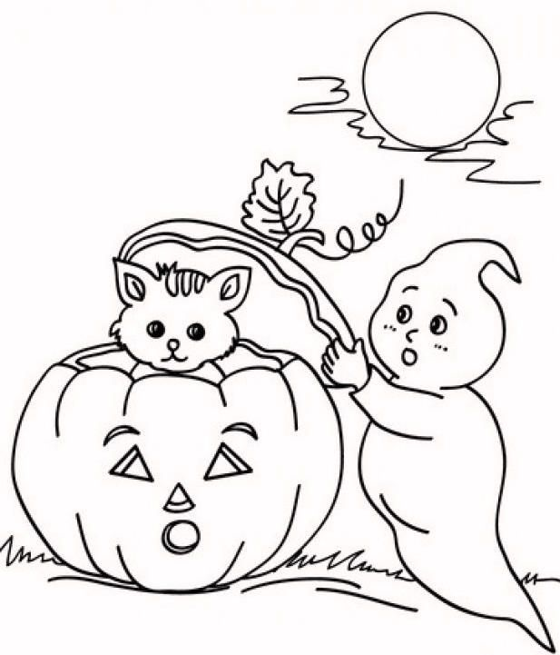 Pumpkin Halloween Coloring Pages Pumpkin Coloring Pages