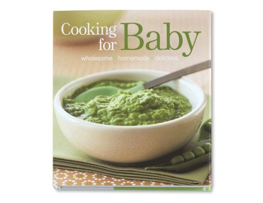 Cooking for Baby offers something wholesome, natural and fresh for every eater at each age. Here's a cookbook that will carry you through each stage of solids.