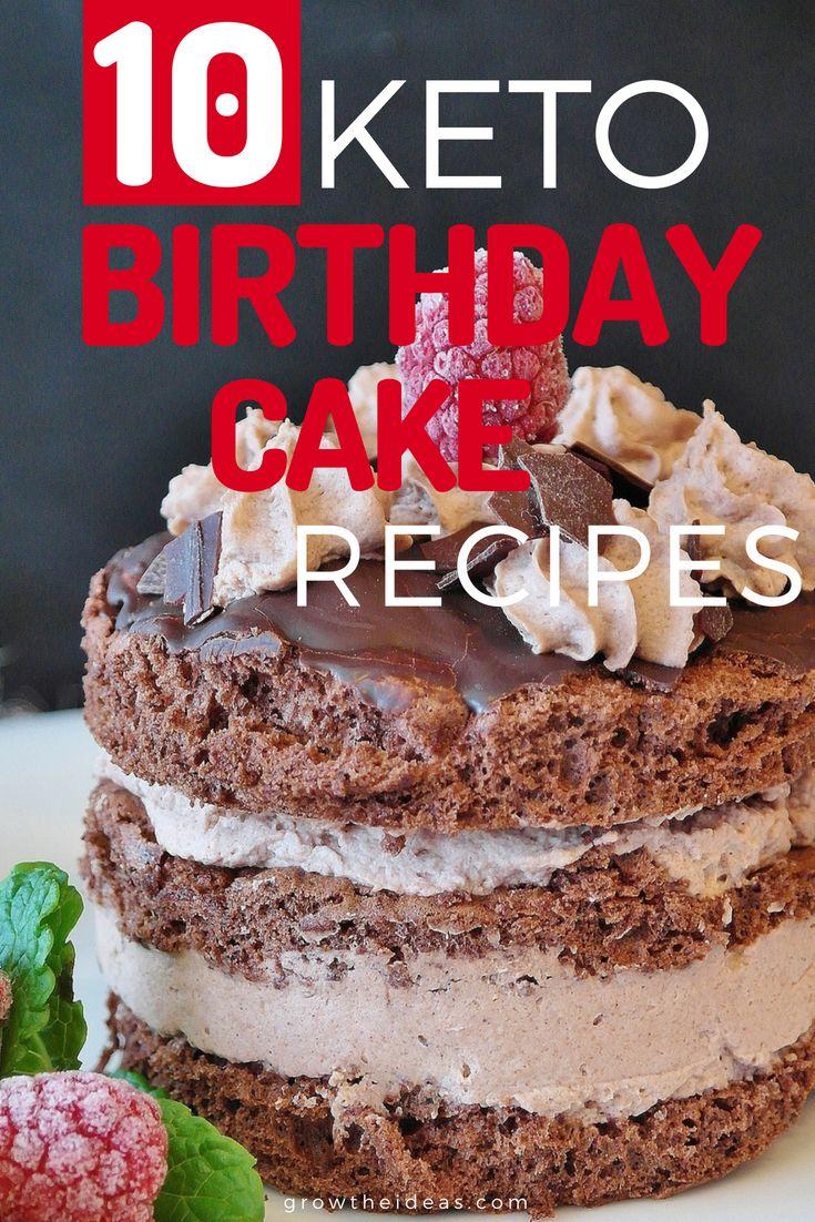 Wer hat gesagt, dass das Backen von Kuchen Stunden dauern würde? Nicht nur diese Geburtstagstortenrezepte …   – Keto eating