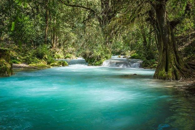 Rio Azul en Jacaltenango #Huehuetenango #Guatemala #ECOTURISMO