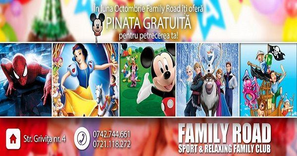 Oferta Petreceri Aniversare - Family Road