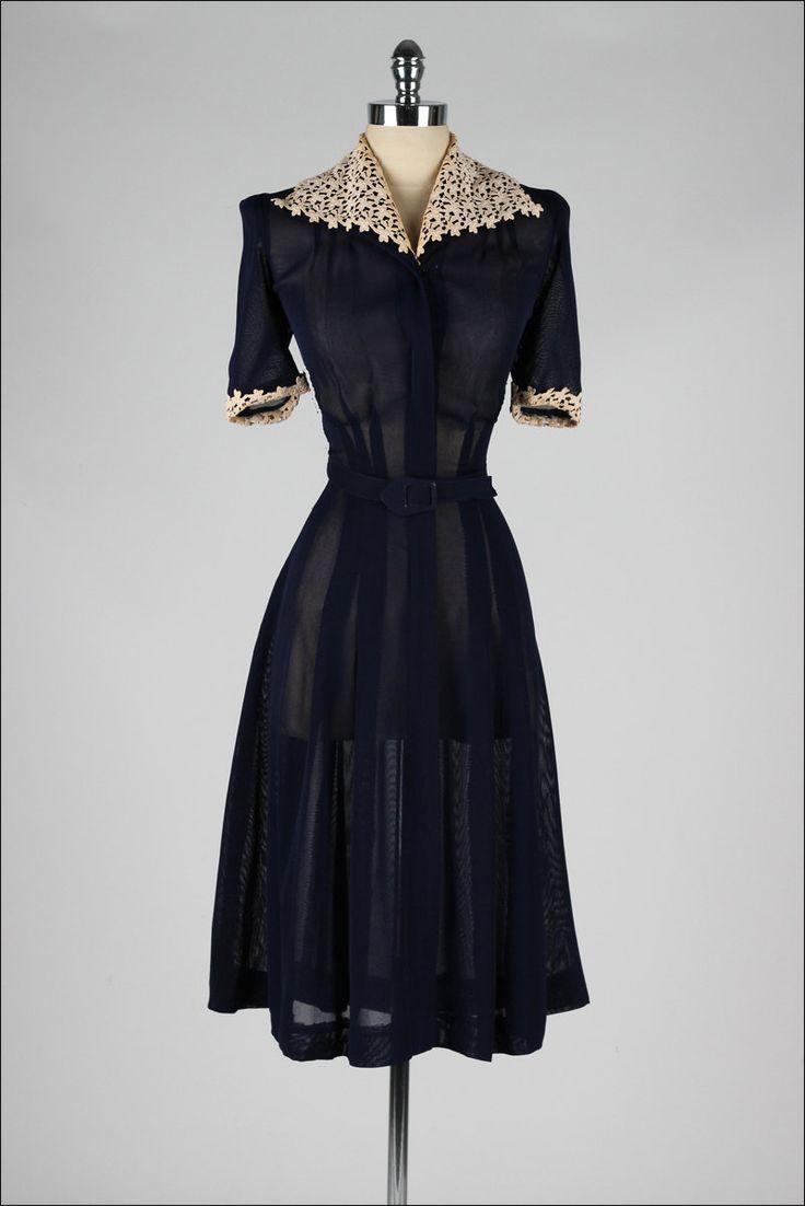 Sew Something Vintage 1940s Fashion: Vintage Dresses On Pinterest
