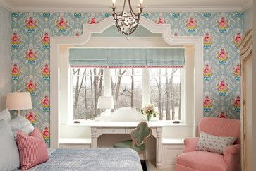 How to Use Whimsical Wallpaper - How to Nest for Less™ - accent wall