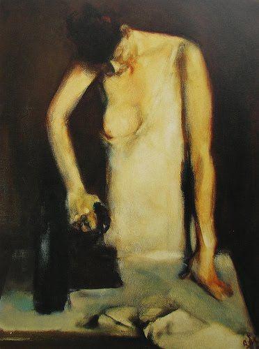 Woman Ironing - Corneliu Baba