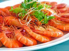 Krevety na česneku recepty česky