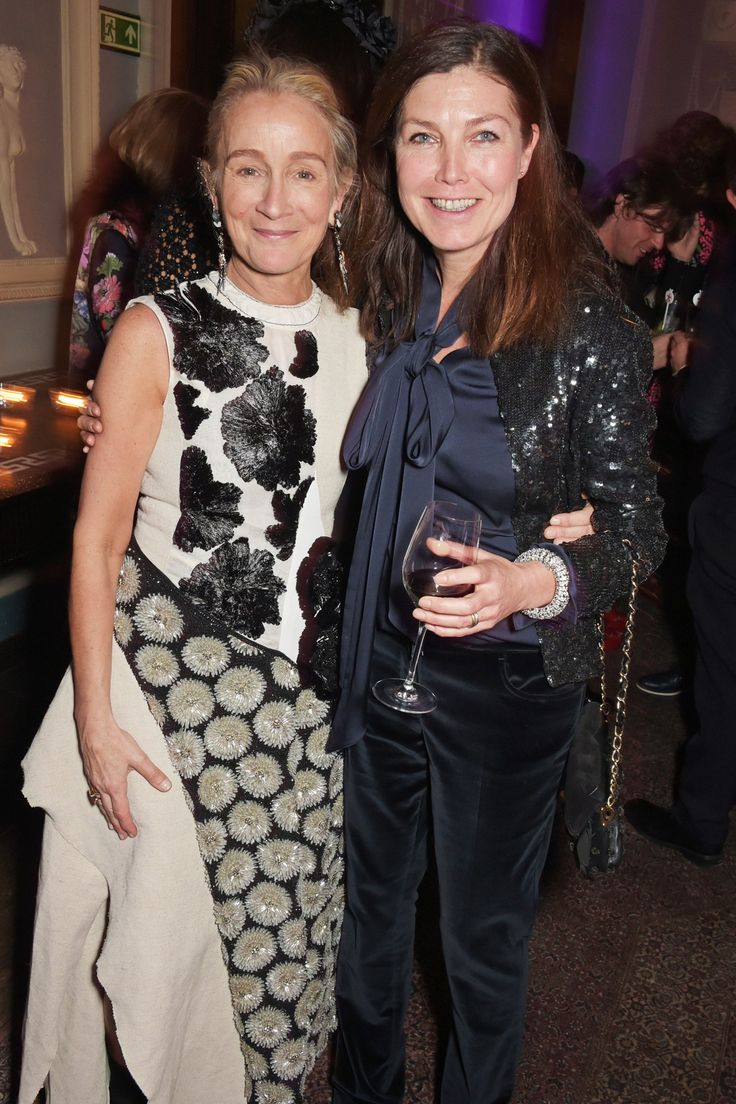 Lucinda Chambers British Vogue Fashion Director Party (Vogue.co.uk)